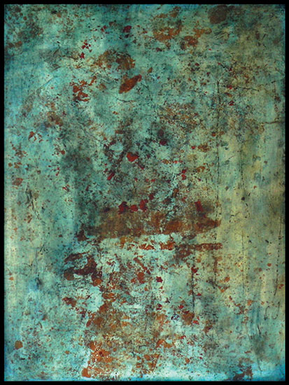 Tanya Bonello, Homage Union, no 126, 600x450mm, gypsum and oil on board, 2004