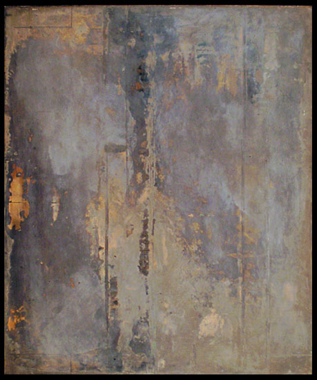 Tanya Bonello, Homage series, Smoke, 600x500mm, gypsum and oil on board, 2002